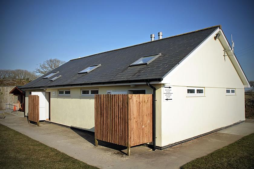 Kennexstone Campsite Facilities : Bathroom and wash block