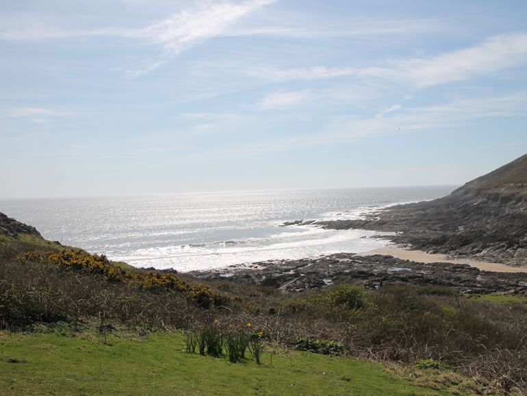 Gower Beaches : Bracelet Bay
