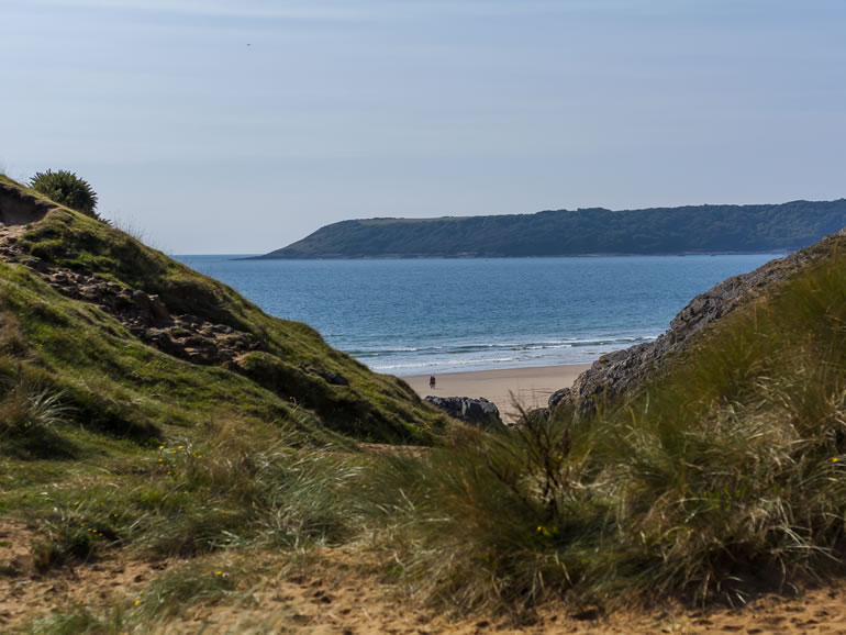 Gower Beaches : Pobbles Bay