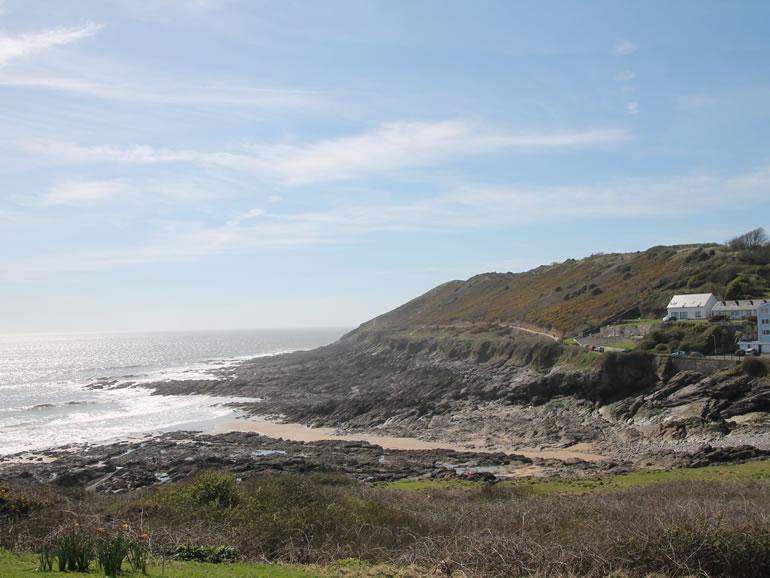 Gower Beaches : Bracelet Bay