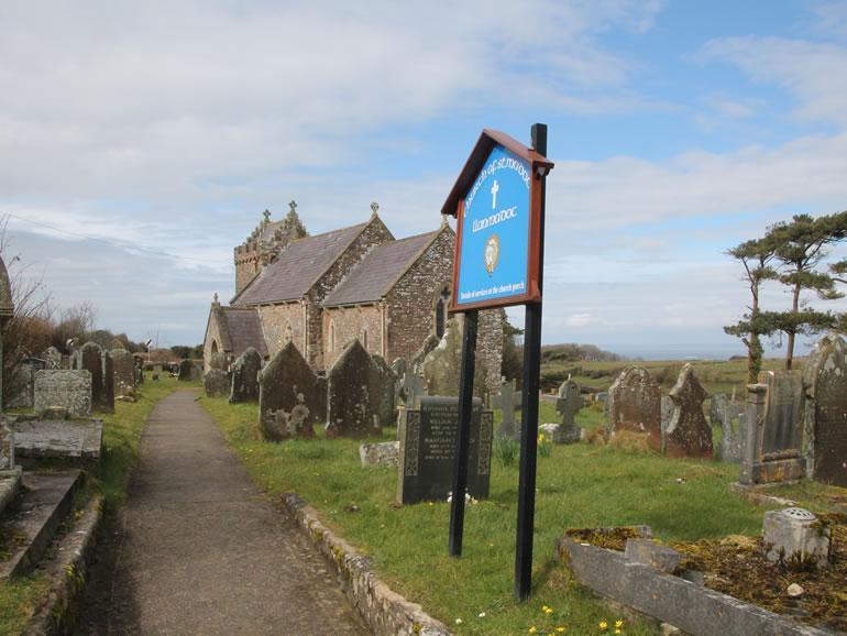 Llanmadoc Church
