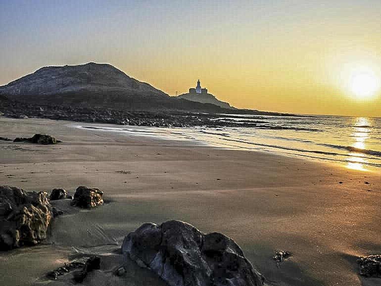 Gower Beaches : Mumbles Beach