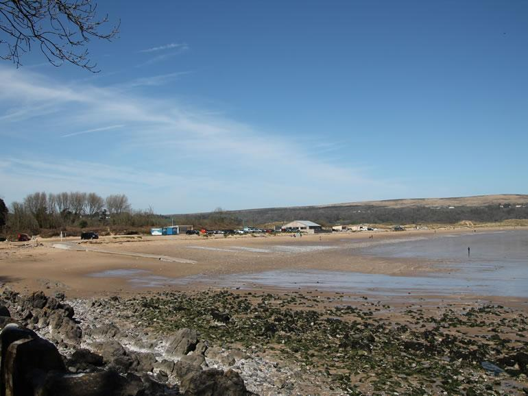 Gower Beaches : Oxwich Bay