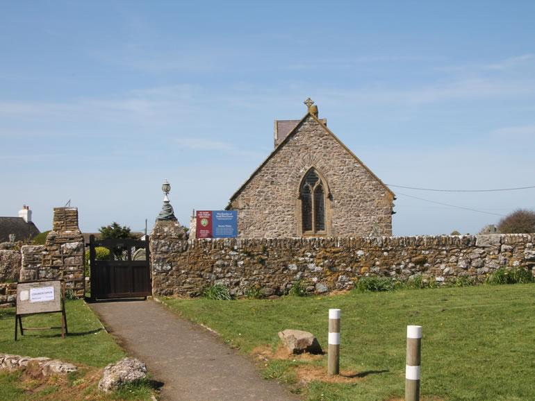 Rhossili Church Kennexstone Camping And Touring Park