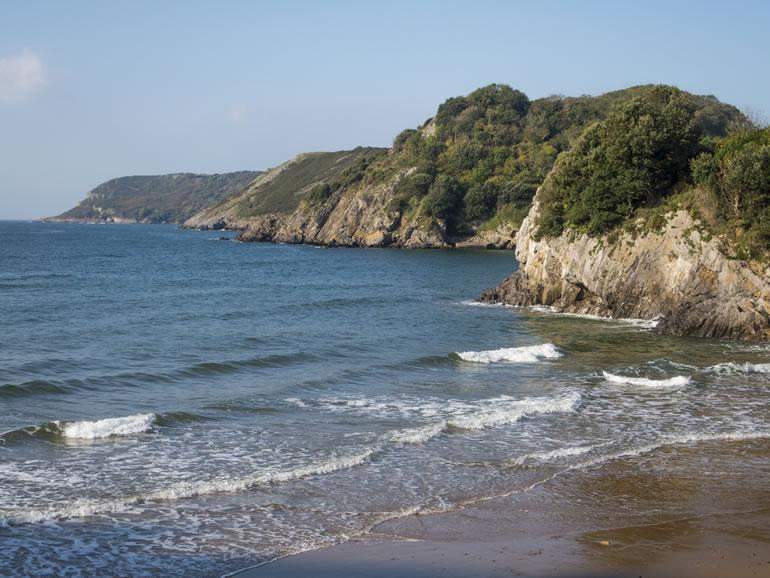Gower Beaches : Caswell Bay