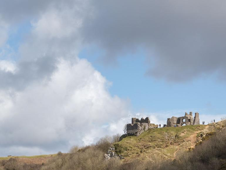 The Gower : Pennard Castle